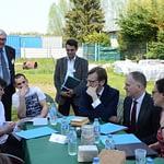Rencontre avec Emmanuelle Wargon, Secrétaire d'Etat auprès du ministre de la Transition écologique et solidaire, à l'occasion d'une visite chez Clarisse et Stéphane.