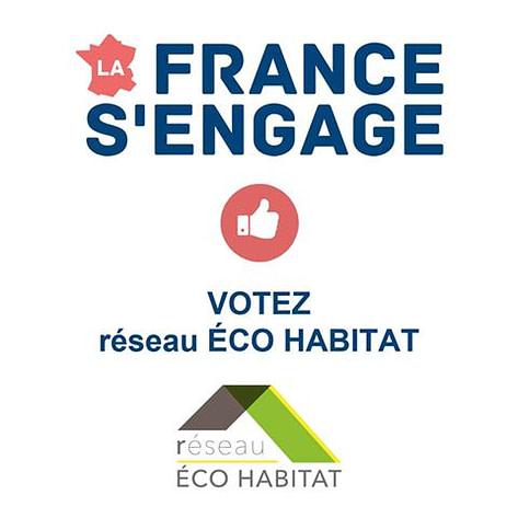 votez réseau Eco-habitat FACEBOOK